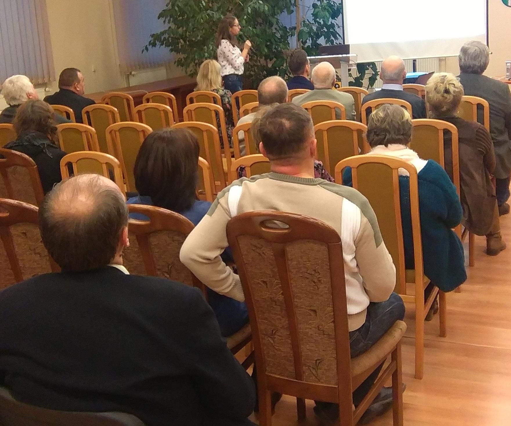 Spotkanie informacyjne dla organizacji pozarządowych organizowane przez Starostwo Powiatowe w Żaganiu